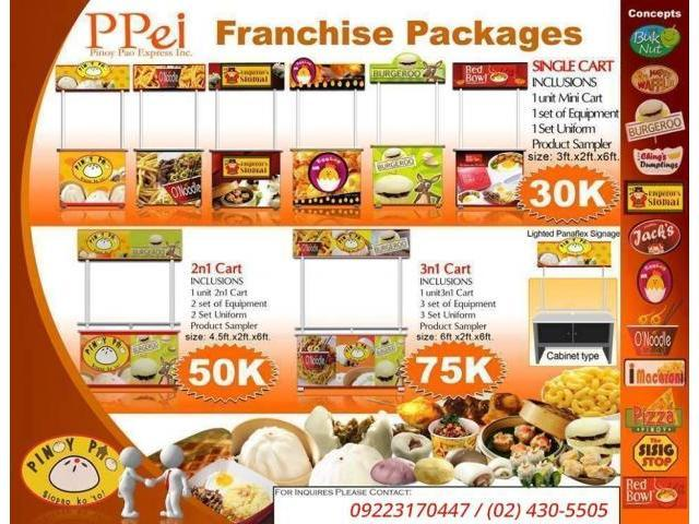 Filipino Food Cart Business Franchise Philippines