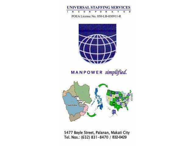 Universal Staffing Services Inc Makati - Pinoy Listing - Philippines ...