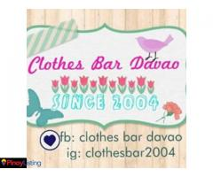 Clothes Bar Davao