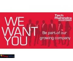 Tech Mahindra - Cebu Recruitment