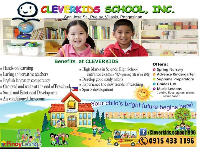 Cleverkids School Inc.