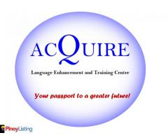 Acquire Language Enhancement and Training Center IELTS Review
