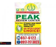 Peak Excellence Training Academy & Review Center