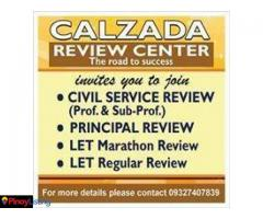 Calzada Review Center