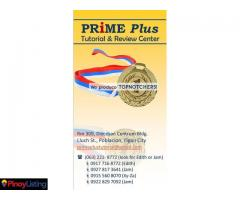 Prime Plus Tutorial & Review Center