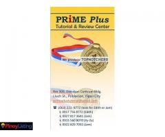 Prime Plus Tutorial & Review Center