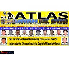Atlas Online Review for Deck and Engine OIC and Management
