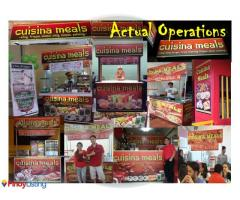 Cuisina Meals Food Cart Franchise