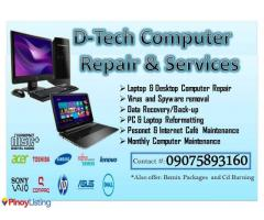 D-Tech Computer Repair and Services