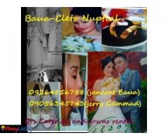 MY Concept and Design, CJ's Catering Services And Gown Rental