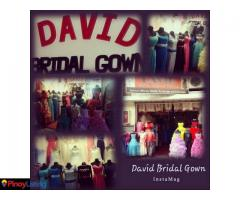 David Bridal Gown