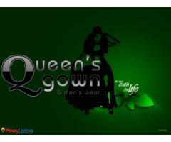 Queen's Gown & Men's Wear