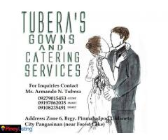 Tubera's Gowns and Catering Services