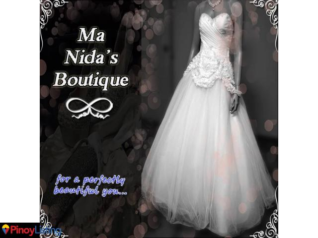 Ma Nida\'s Boutique - Rent A Gown, Wedding Planner Mandaue - Pinoy ...