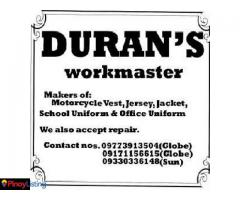 Duran's Tailoring