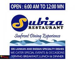 Subiza Seafront Restaurant
