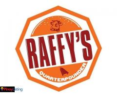 Raffy's QUARTERPOUNDER Burger