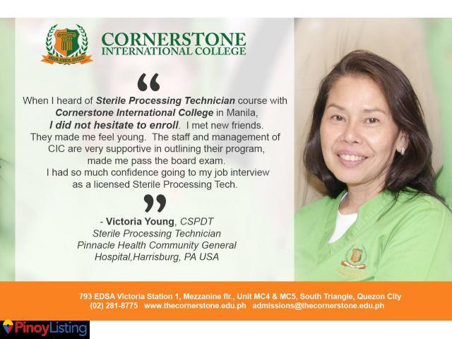 Cornerstone International College Quezon City Pinoy Listing