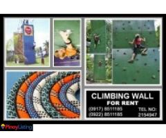 Climb Wall- other event services Rent Hire Manila Philippines