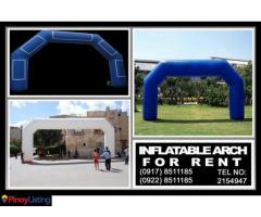Inflatable Start Finish Balloon Arch- other event services Rent Hire Manila Philippines