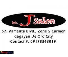 Ms. J Salon Carmen Cagayan de Oro City