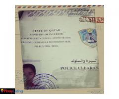 Qatar Police Clearance Certificate
