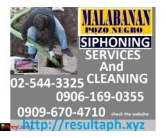 RAA Malabanan Siphoning Services Caloocan City,02-5443325