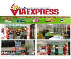 Viaexpress franchise With ticketing bills payment center Free seminar and training
