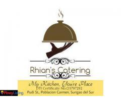 Rhian's Catering Services