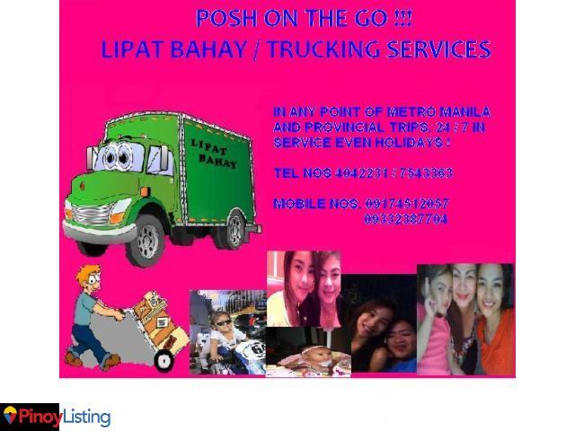 POSH ON THE GO ! LIPAT BAHAY AND TRUCKING COMPANY