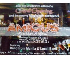 Amicus Resto Bar & Grill