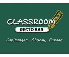 Classroom Resto Bar