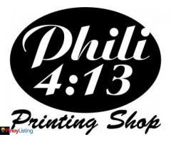 Phili 4:13 Printing Shop