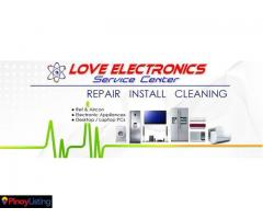 LOVE ELECTRONICS SERVICE CENTER