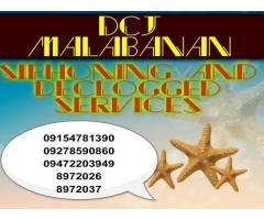 Dcj malabanan siphoning services 09772589982 / 8972037