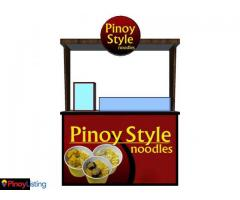 Pinoy Style Noodles - Affordable Food Cart Franchise
