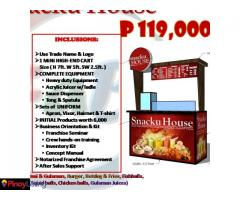 Snacku House - Affordable Food Cart Franchise