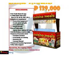 Cuisina Meals - Affordable Food Cart Franchise