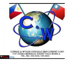 Connor and Wyson Overseas Employment Corp.