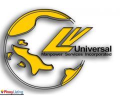 LV UNIVERSAL MANPOWER SERVICES INC.