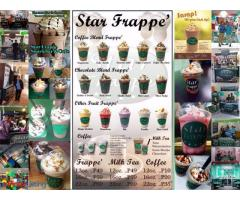 Star Frappe - Snack Bar and Cafe Franchise.