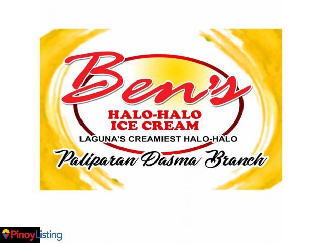 Ben's Halo Halo Ice Cream Paliparan-Dasma Branch