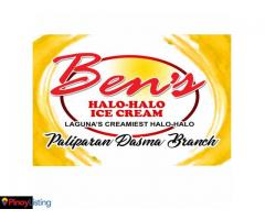 Ben's Halo Halo Ice Cream Paliparan-Dasma Branch