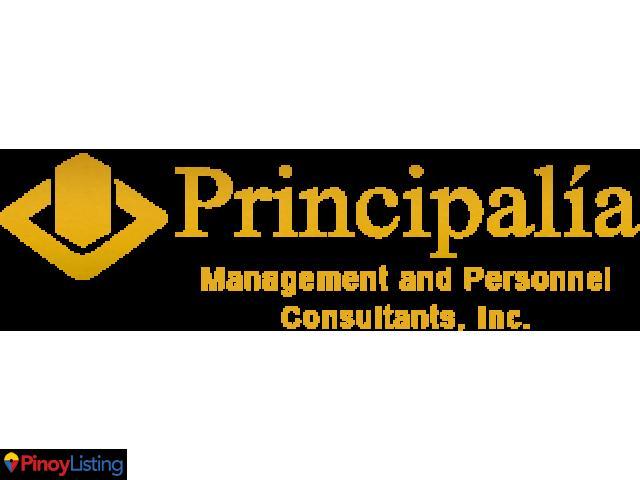 PRINCIPALIA MANAGEMENT AND PERSONNEL CONSULTANTS, INC