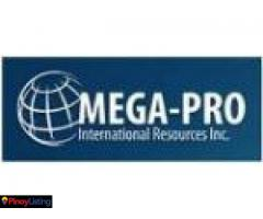 MEGA-PRO INTERNATIONAL RESOURCES INC.