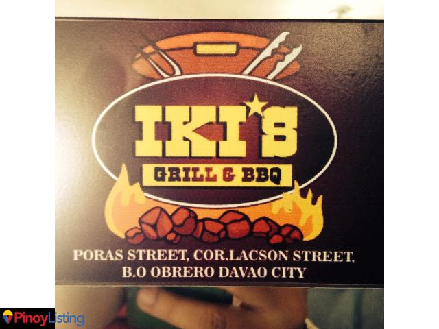 Iki's grill and bbq