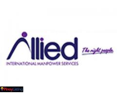 ALLIED INTERNATIONAL MANPOWER SERVICES, INC.