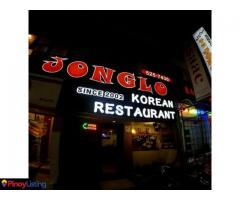 Jonglo Korean restaurant