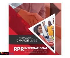 RPR International Recruitment Agency Inc.
