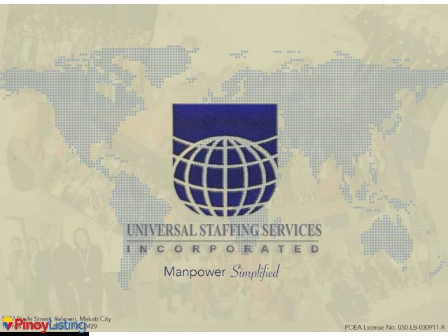Universal Staffing Services Inc